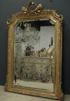 antique mirror, antique French mirror from www.jasperjacks.com