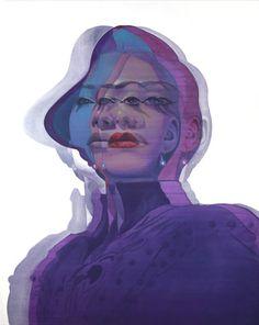 Alex Kiessling - acrylic on canvas