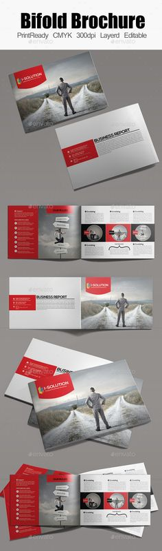 Bifold Brochure Template - Corporate Brochure Template PSD. Download here: http://graphicriver.net/item/bifold-brochure-template/12807021?s_rank=1793&ref=yinkira