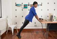 #Exercises You Can Legit Do at Your Desk #fitness  #exercise
