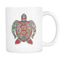 Sugar Sea Turtle Hot Mug