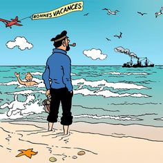 Original art by Hergé, remastered by Jean Claud Registo