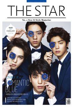 C.N Blue - The Star Magazine February Issue '14
