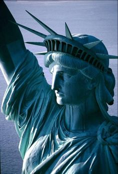 Statue of Liberty - you can almost imagine the tears rolling down her face