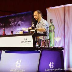 Gran presentación y Masterclass del gran bartender Charles Joly, campeón mundial de World Class Competition 2014, en el Congreso Internacional de Coctelería Mixology(X)trends Madrid 2015. #CopasConEstilo #Coctelería #Madrid