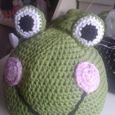 Gorro rana ganchillo #ganchillo #crochet #gorro