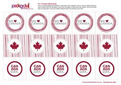 For all my fabulous Canadian pals… You must see this party and free printables from Polkadot Prints: I heart Canada too! Thanks Polkadot Prints… and Happy Canada Day! Party Printables, Free Printables, Pinwheel Craft, Canada Day Crafts, Canada Day Party, Canada Holiday, World Thinking Day, Happy Canada Day, O Canada
