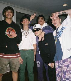 Pretty Much Band, Pretty And Cute, Pretty Boys, Boy Squad, Brandon Arreaga, Squad Photos, Lil Skies, Cute Boys Images, Best Dad