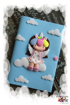 Fazendo Arte by Ágatha Kozakevic: Capa de Agenda by Ágatha Kozakevic Unicorn Books, Unicorn Doll, Foam Crafts, Diy And Crafts, Fabric Book Covers, Custom Book, Foam Sheets, Kids Learning Activities, Polymer Clay Creations