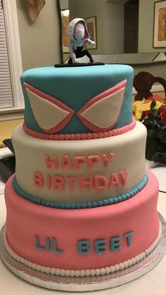 17th Birthday, Girl Birthday, Birthday Ideas, Birthday Parties, Halloween Party Decor, Halloween Kids, Spiderman Cake Topper, Spider Cake, Lauren Kate