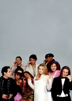 the cast of Clueless // 90s fashion icons // iconic movies // 1990s style // cher horowitz // dionne