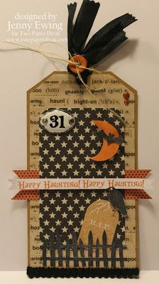 Halloween Silhouettes by Two Paper Divas - Kirby's Kards: Happy Haunting!