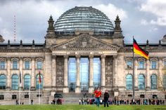 The Reichstag with its glass dome. #germany25reunified Enter the #InspiredBy Pinterest Contest for your chance to win a trip to Germany!