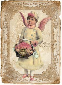 JanetK.Design Free digital vintage stuff: De laatste Kersttags van dit jaar....
