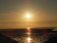 Mooie zonsondergang op Terschelling