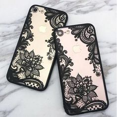 Luxury Lace Cartoon Flower Case For iphone 7 Case For 6 PLus Case Sexy Paisley Mandala Henna Floral Cover Phone Cases New Iphone 8, Used Iphone, Paisley, Mandala Floral, Girl Phone Cases, Cartoon Flowers, Hennas, Plus 8, Sexy