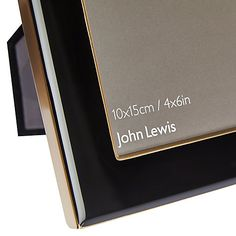 Buy John Lewis & Partners Boutique Photo Frame, Black/Gold, 5 x x 5 x x from our Photo Frames & Accessories range at John Lewis & Partners. Craft Room Decor, Room Tour, Single Image, John Lewis, Black Gold, Picture Frames, Boutique, Stuff To Buy, Products
