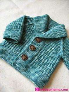 Baby Boy Knit Cardigan Models