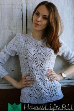 Пуловер спицами / Вязание спицами