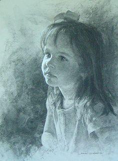 pippa.jpg (440×600) McCartin.  Charcoal.  So beautiful.