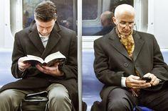 {Pra Começar} Lendo em lugares públicos
