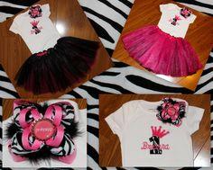 Princess 1st Birthday Tutu Outfit    www.facebook.com/PrincessWiggleBottom