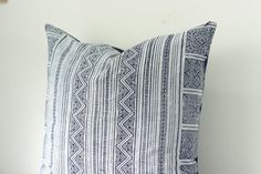Navy VINTAGE Hand Woven HEMP HMONG Ethnic A Piece Of by Tshaj, $60.00