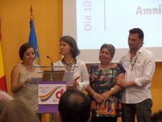 Y llegó el tan ansiado momento, el de la entrega de premios. El Blog de María Serralba-Premios Angie Simonis