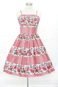 81f752575d4 Sun Dress Summer Picnic. Retrospec d Clothing
