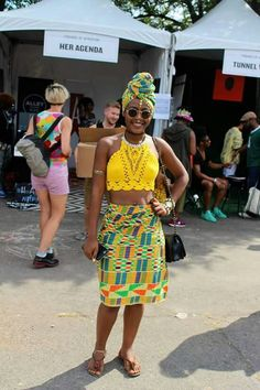 African Prints in Fashion - Check out the awesome street style and fashion. Afro Punk Fashion, I Love Fashion, Fashion Check, African Print Fashion, African Prints, Kente Styles, Ghanaian Fashion, Tribal Dress, African Dress