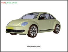 CAD Format: AutoCAD 2013 Block Type: 3D Mesh Autocad, 3d Mesh, Cad Blocks, Vw Beetles, Type, Vw Bugs, Bubbles