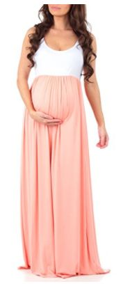 Perfect maternity dress for Spring or Summer!   Women's Sleeveless Ruched Color Block Maxi Maternity Dress by Mother Bee   maternity maxi dress   maternity dress   maternity style   maternity outfit   maternity wardrobe   pregnancy   bump   spring maternity   summer maternity   #affiliate #maternityoutfits #pregnancystyle