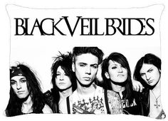 BLACK VEIL BRIDES BVB Andy Andrew Biersack Pillow Case Pillowcase Cover A