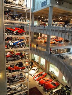 The Barber Motorsport Museum in Birmingham, Alabama.