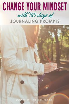 30 day challenge incorporates so many of the deep questions that we should be asking ourselves, and turns them into daily writing prompts for you to privately reflect on.