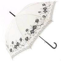 모노톤 로즈 자동 장우산 - 화이트 ※ 일본 수입 우산