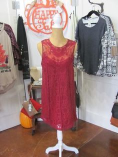 Crimson Party Dress     You'll love this dress from Umgee!  #Spring clothes, # Boutique
