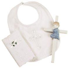 Elegant Baby   Christening Gift Set - Blue