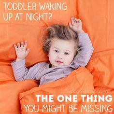 It took us over a year to figure this out!! I had started to think our toddler would never sleep through the night, until we cut out this ONE thing. If you're stuck in the cycle of sleepless nights like we were, you'll want to check to see if you missed this too!