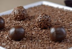 Brigadeiro Gourmet. The most popular and loved brazilian sweet. Delicious !