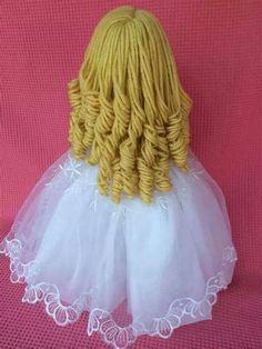 Doll Wigs, Doll Hair, Fondant Hair, Clay Dolls, Foam Crafts, Sewing Toys, Fairy Dolls, Gum Paste, Crochet Dolls