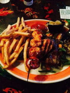 Food in a storm - Rainforest cafe Rainforest Cafe, Meat, Chicken, Food, Essen, Meals, Yemek, Eten, Cubs