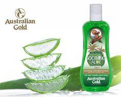 Aloe Vera este derivat dintr-o planta de origine africana care ajuta la formarea de noi celule si tesuturi, restaureaza hidratarea pielii si in plus poseda proprietati care ajuta in tratamentul inflamatiilor, a arsurilor si infectiilor. #AustralianGold