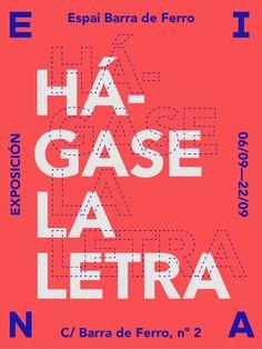 Hágase la Letra poster / by Rafa Goicoechea