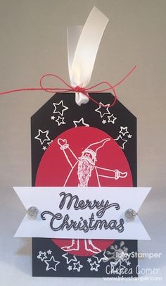 This santa from FSJ's Be Jolly is sooo cute ... makes great cards and tags!!