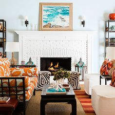 Living room: After - Painting Ideas for a Home Makeover - Sunset