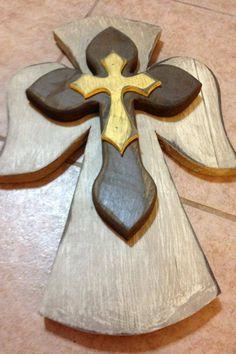Love wooden crosses