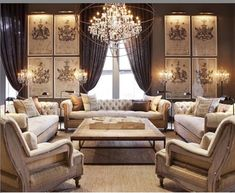 "287 Likes, 3 Comments - Yvonne (@beauty_decor_lifestyle) on Instagram: ""TODAY'S THEME-LIVING ROOMS  by Restoration Hardware via Pinterest #beauty_decor_lifestyle #luxury…"""