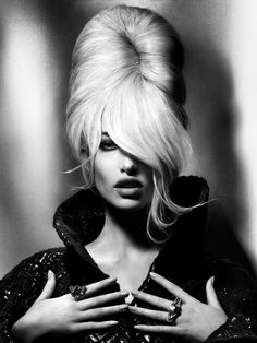 Femme fatale, Lady, Woman, Girl, Fashion, Glamour, Style, Luxury, Chic, B&W, Black & white