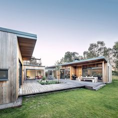 Image 14 of 28 from gallery of Summer Villa House / Sweco Architects. Photograph by Tim Meier Journal Du Design, Building A Container Home, Villa, Architecture, Exterior Design, My House, House Plans, New Homes, House Design